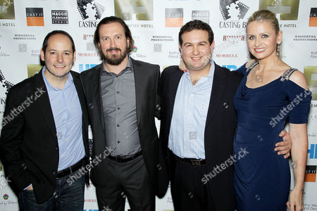 Tom Donahue, Peter Bolt, Ilan Arboleda and Kate Lacey