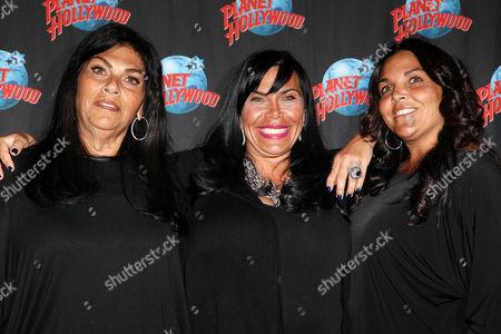 Stock Picture of Lana Graziano, Renee Graziano and Jennifer Graziano