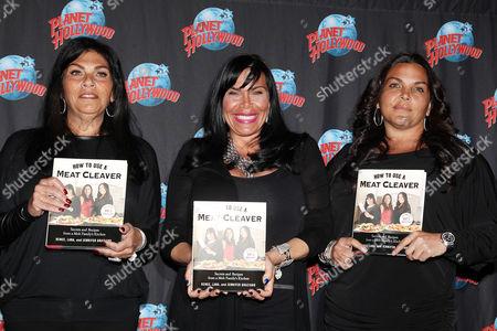Stock Image of Lana Graziano, Renee Graziano and Jennifer Graziano