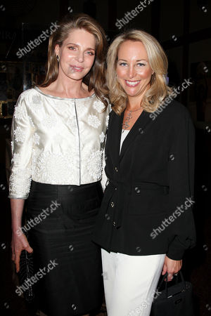 Queen Noor of Jordan and Valerie Plame Wilson