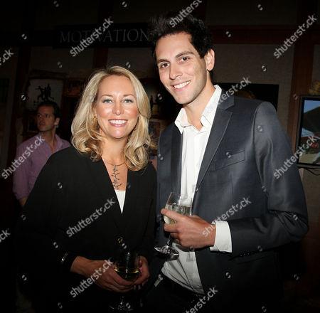Valerie Plame Wilson and Gabe Saporta (Cobra Starship singer)