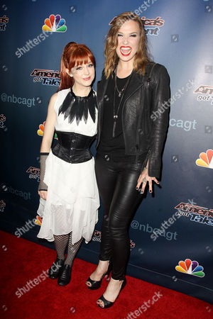 Lindsey Stirling and Lzzy Hale