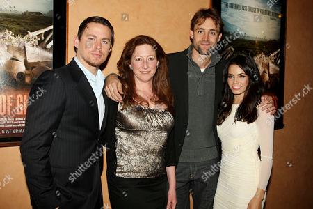 Stock Image of Channing Tatum, Deborah Scranton (Director), Reid Carolin and Je