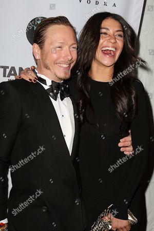 Jessica Szohr and Eric Daman