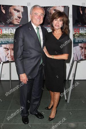 William J Bratton (NYC Police Commissioner) and Rikki Klieman (wife)