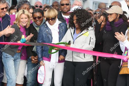 Elizabeth Banks, Tracy Chapman, Mary J. Blige, Oprah Winfrey and Jennifer Hudson