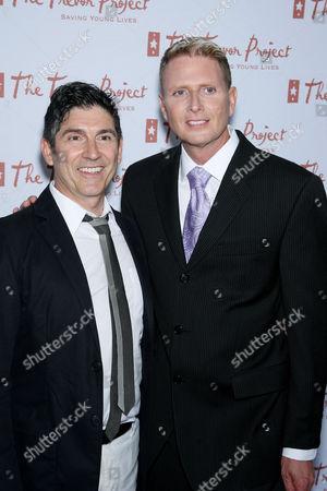 James Lecesne (Co-Founder), Charles Robbins (Exec Dir. The Trevor Project)