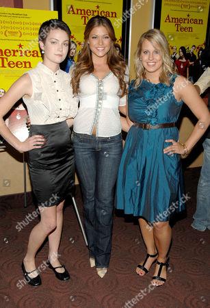 Hannah Bailey, Hilary Cruz (Miss Teen USA) and Megan Krizmanich