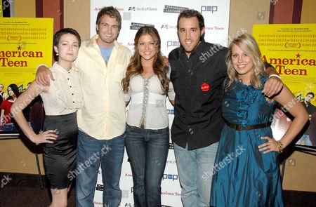 Hannah Bailey, Mitch Reinholt, Hilary Cruz (Miss Teen USA), Colin Clemens and Megan Krizmanich