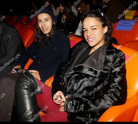 Voula Duval and Michelle Rodriguez