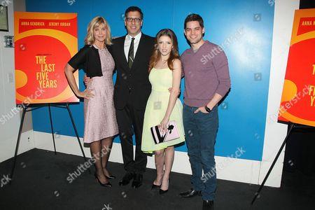Lauren Versel, Richard LaGravenese, Anna Kendrick and Jeremy Jordan