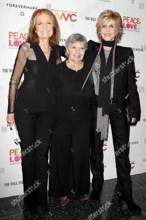 Gloria Steinem, Robin Morgan and Jane Fonda
