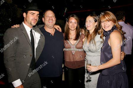 Justin Theroux (director),Harvey Weinstein,Celine Rattray (producer),Galt Niederhoffer (producer) and Daniela Taplin Lundberg (producer)
