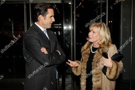 Bob Woodruff and Sharon Bush