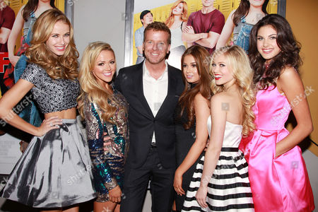 McG (Producer) with Sherri Hill Models