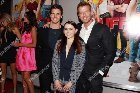Robbie Amell, Mae Whitman, McG (Producer)