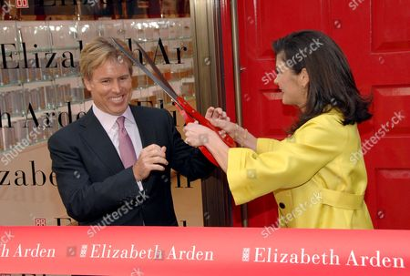 Elizabeth Arden Chairman and Chief Executive Officer Scott Beattie and Catherine Zeta-Jones