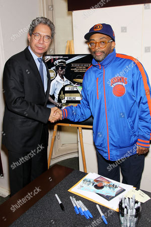 Henry McGee (President of HBO Home Entertainment) and Spike Lee