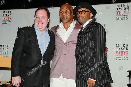 Editorial image of 'Mike Tyson: Undisputed Truth' play press conference, New York, America - 18 Jun 2012