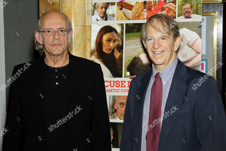 Stock Image of Christopher Lloyd and Ric Klass