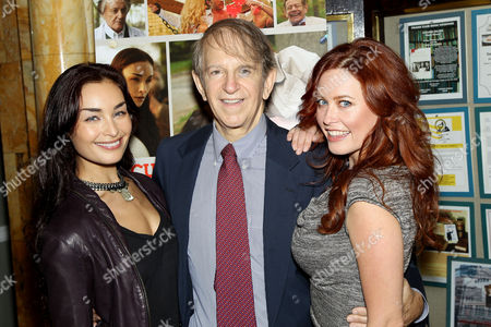 Ewa Da Cruz, Ric Klass and Melissa Archer