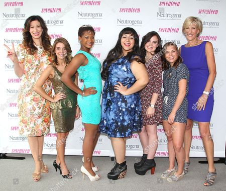 Stock Photo of Ann Shoket, Jayne Jamison, Paige Rawl, Kay-Ci Bele, Ant Roman, Stacey Ferreira, Paige McKenzie and Jayne Jamison