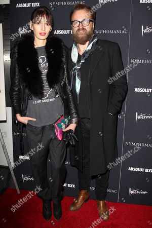 Stock Picture of Kenza Fourati and Johan Lindeberg