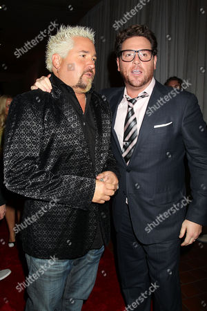 Guy Fieri and Scott Conant