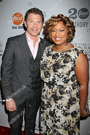 Bobby Flay and Sunny Anderson