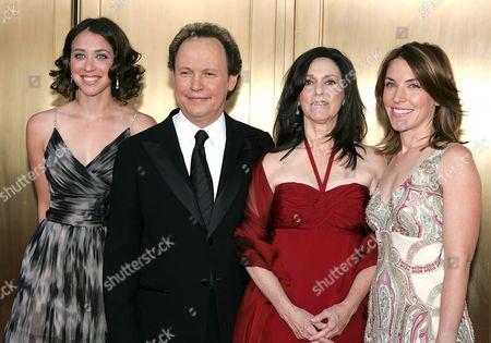 Lindsay Crystal, Billy Crystal wife Janice and Jennifer Crystal