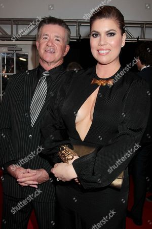 Alan Thicke with wife Gloria Loring