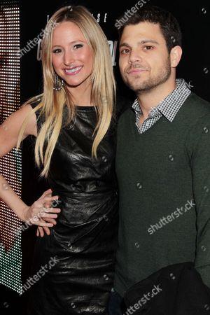 Stock Photo of Jerry Ferrara with girlfriend Alexandra Blodgett