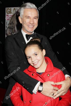 Baz Luhrmann with daughter Lillian Amanda Luhrmann
