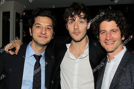 Ben Schwartz, Cesar Domboy and Clement Sibony
