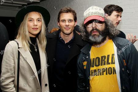 James Marsden with Guest, Judah Friedlander