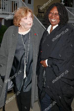 Anne Meara and Whoopi Goldberg