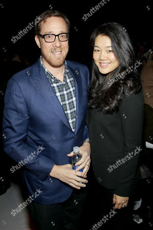 Stock Picture of Rob Minkoff, Crystal Kung