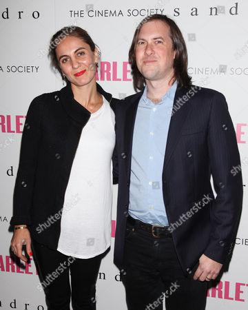 Stock Picture of Suzanne Ashman-Kipervaser and Blake Ashman