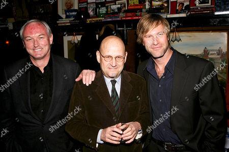 Christopher Buckley, Edward R Pressman and Aaron Eckhart