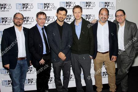Gabor Sipos (Producer), Amitai Kedar, Geza Rohrig, Laszlo Nemes, Gabor Rajna (Producer), Michael Barker (Co-Pres. SPC)