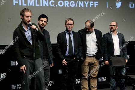 Laszlo Nemes, Geza Rohrig, Amitai Kedar, Gabor Rajna (Producer), Gabor Sipos (Producer)