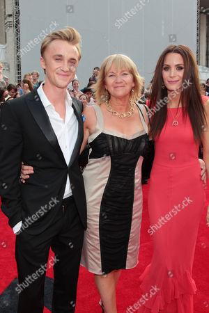 Tom Felton, Sharon Felton and JADE OLIVIA
