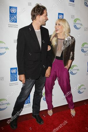 Stock Image of Toby Gad and Natasha Bedingfield