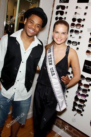 Tristan Wilds and Miss Tenn USA Stormi Henley