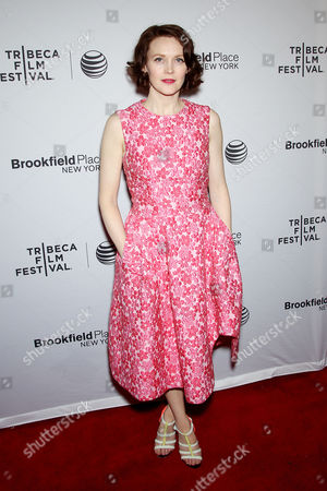 Editorial image of 'Jimmy's Hall' film screening, Tribeca Film Festival, New York, America - 22 Apr 2015