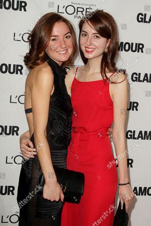 Christina Huffington and Isabella Huffington