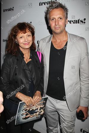 Susan Sarandon and Steve Shaw