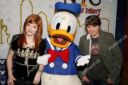 Spencer Breslin, Donald Duck and Zena Grey