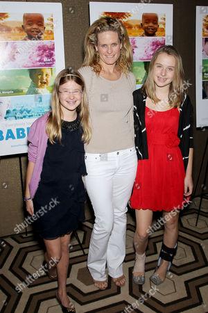 Audrey McDermott with daughters (Ashley McDermott, Serena McDermott)