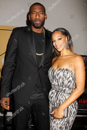 Amar'e Stoudemire and Alexis Welch